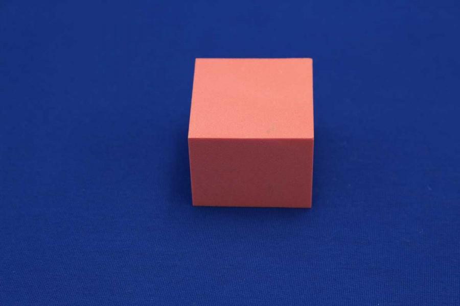 BLOCK GENERIC SOLID FOAM 0,45g/cm3 5cm x 5 cm x 5cm